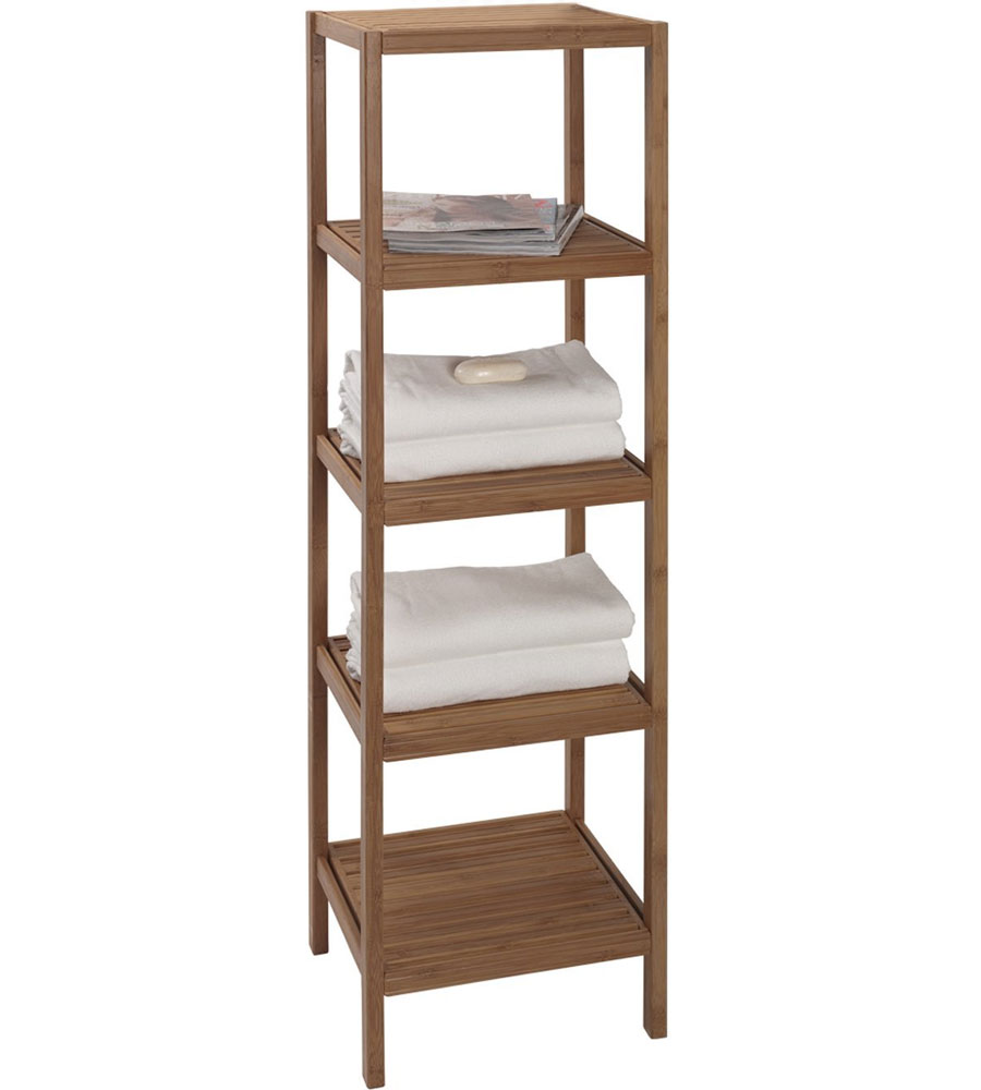 Clever Bamboo Shelving Unit Bathroom Shelves Bathroom Shelving Unit Walmart Bathroom Shelving Unit Ideas bathroom Bathroom Shelving Units